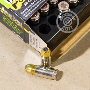 Picture of 9MM LUGER REMINGTON ULTIMATE DEFENSE COMPACT 124 GRAIN JHP (20 ROUNDS)