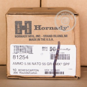 Picture of 5.56x45MM HORNADY 55 GRAIN GMX (20 ROUNDS)