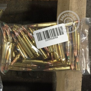 Picture of 223 REMINGTON MIXED BRASS AND NICKLE PLATED (50 ROUNDS)