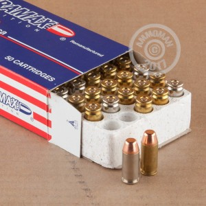 Picture of 40 S&W ULTRAMAX REMANUFACTURED 165 GRAIN FMJ (50 ROUNDS)