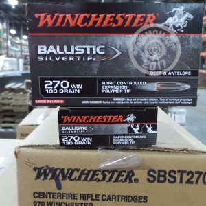 Picture of 270 WIN WINCHESTER SUPREME BALLISTIC 130 GRAIN PT (20 ROUNDS)