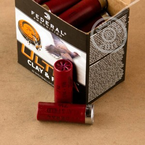 "Picture of  12 GAUGE FEDERAL ULTRA CLAY & FIELD 2-3/4"" #7-1/2 SHOT (250 ROUNDS)"