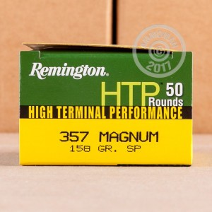 Picture of 357 MAGNUM REMINGTON HTP 158 GRAIN SP (50 ROUNDS)