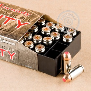 Picture of 40 S&W HORNADY CRITICAL DUTY 175 GRAIN FLEXLOCK JHP (20 ROUNDS)