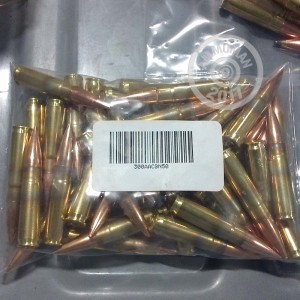 Picture of 300 AAC BLACKOUT MIXED BRASS AND NICKEL PLATED (50 ROUNDS)