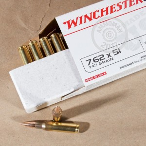 Picture of 308 - 147 gr FMJ - Winchester 7.62x51 - 200 Rounds
