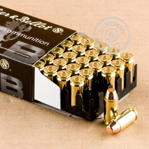 Picture of .40 S&W SELLIER & BELLOT 180 GRAIN FMJ (50 ROUNDS)