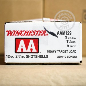 "Picture of 12 GAUGE WINCHESTER AA HEAVY TARGET #9 SHOT 2 3/4"" (25 ROUNDS)"