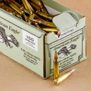 Picture of 5.56 NATO FEDERAL LAKE CITY M855 BALL 62 GRAIN FMJ (600 ROUNDS)