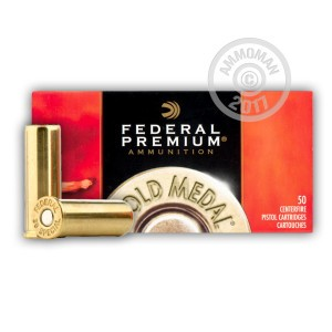Picture of 38 Special - 148 gr Lead Wadcutter Match - Federal Gold Medal - 50 Rounds