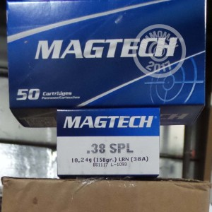 Picture of 38 SPECIAL MAGTECH 158 GRAIN LRN (50 ROUNDS)
