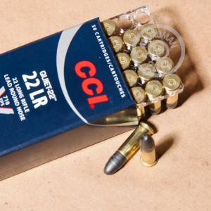 .22 Long Rifle ammo for sale at AmmoMan.com - 50 rounds.