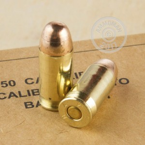 Picture of 45 ACP WINCHESTER SERVICE GRADE 230 GRAIN FMJ (500 ROUNDS)