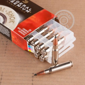 Picture of 308 WIN FEDERAL PREMIUM VITAL-SHOK 165 GRAIN POLYMER TIP (20 ROUNDS)