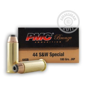 Picture of 44 SPECIAL PMC 180 GRAIN JHP (50 ROUNDS)
