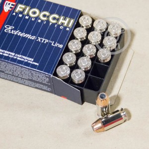 Picture of .45 ACP FIOCCHI SHOOTING DYNAMICS 230 GRAIN XTP (25 ROUNDS)