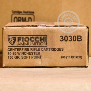 Picture of 30-30 FIOCCHI SHOOTING DYNAMICS 150 GRAIN SP (20 ROUNDS)