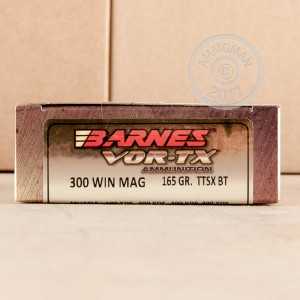 Picture of 300 WIN MAG BARNES VOR-TX 165 GRAIN TSX (20 ROUNDS)