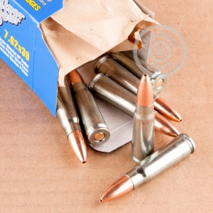Picture of 7.62X39 SILVER BEAR 123 GRAIN HP (20 ROUNDS)