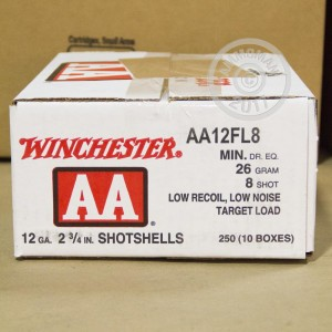 "Picture of 12 GAUGE WINCHESTER AA LOW RECOIL 2-3/4"" #8 SHOT (25 ROUNDS)"
