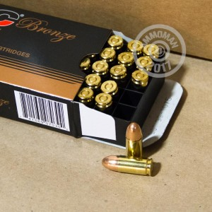 Picture of 9MM LUGER PMC BRONZE 124 GRAIN FMJ (50 ROUNDS)