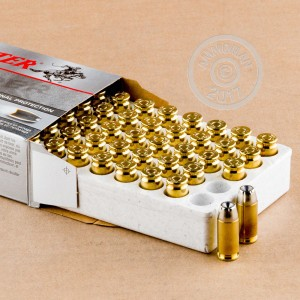 Picture of 40 S&W WINCHESTER SUPER-X 155 GRAIN SILVERTIP JHP (50 ROUNDS)