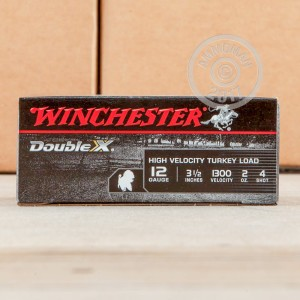 "Picture of 12 GAUGE WINCHESTER DOUBLE-X 3-1/2"" #4 SHOT (10 ROUNDS)"