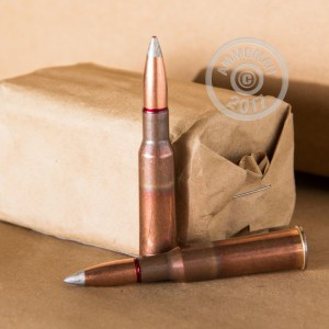 Picture of 7.62X54R RUSSIAN SURPLUS 149 GRAIN FMJ SILVER TIP (20 ROUNDS)