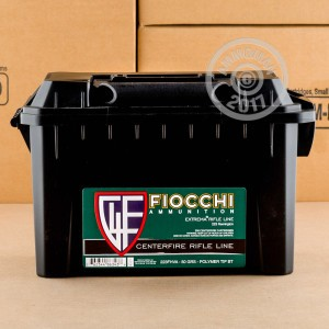 Picture of 223 REMINGTON FIOCCHI IN PLANO AMMO CAN 50 GRAIN V-MAX POLYMER TIP (200 ROUNDS)