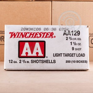 "Picture of 12 GAUGE WINCHESTER AA 2-3/4"" #9 SHOT (25 ROUNDS)"