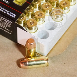 Picture of 45 ACP WINCHESTER 230 GRAIN FMJ (50 ROUNDS)