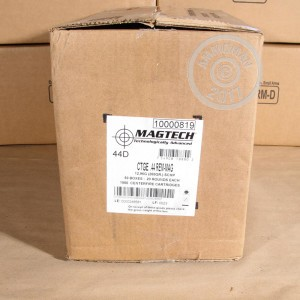 Photo of 44 Remington Magnum JHP ammo by Magtech for sale at AmmoMan.com.