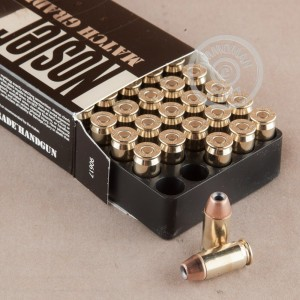 Picture of 45 ACP NOSLER 185 GRAIN JHP (50 ROUNDS)
