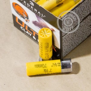 "Picture of 20 GAUGE FEDERAL ULTRA HEAVY FIELD & CLAY 2-3/4"" #7.5 SHOT (250 ROUNDS)"