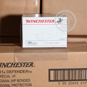 Picture of 38 SPECIAL WINCHESTER USA 130 GRAIN FULL METAL JACKET (500 ROUNDS)