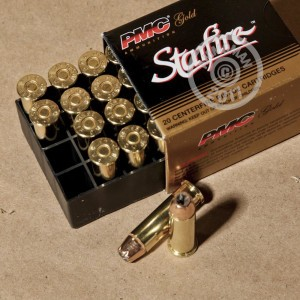 Picture of 38 SPECIAL +P PMC STARFIRE 125 GRAIN JHP (20 ROUNDS)