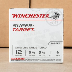 "Picture of 12 GAUGE WINCHESTER SUPER TARGET 2-3/4"" #9 SHOT (25 ROUNDS)"