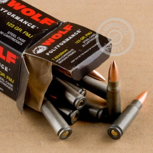 Picture of 7.62x39 WOLF PERFORMANCE 123 GRAIN FMJ (1000 ROUNDS)
