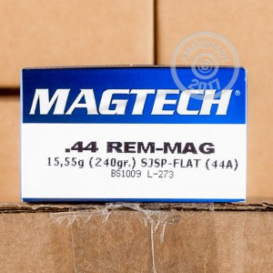 Picture of 44 MAGNUM MAGTECH 240 GRAIN SJSP (50 ROUNDS)