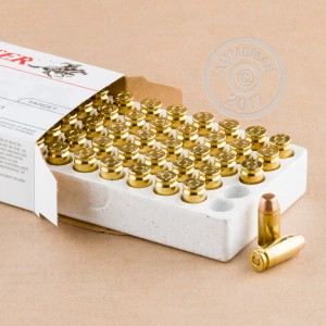 Picture of .40 S&W WINCHESTER 165 GRAIN FULL METAL JACKET (500 ROUNDS)