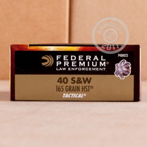 Picture of .40 S&W FEDERAL HST 165 GRAIN JHP (1000 ROUNDS)