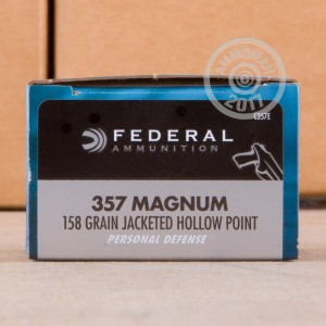 Picture of 357 MAGNUM FEDERAL 158 GRAIN JHP (20 ROUNDS)