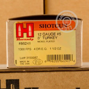 "Picture of 12 GAUGE HORNADY HEAVY MAGNUM TURKEY 3"" #5 SHOT (10 ROUNDS)"