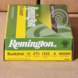"Picture of 12 GAUGE REMINGTON EXPRESS 2-3/4"" 000 BUCK (5 SHELLS)"