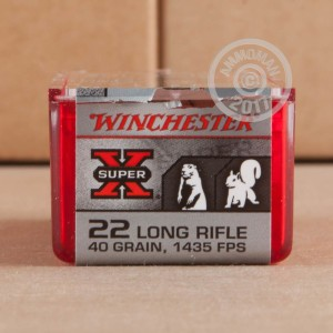 Picture of 22 LR WINCHESTER SUPER-X 40 GRAIN COPPER PLATED HP (100 ROUNDS)