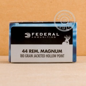 Picture of 44 MAGNUMFEDERAL POWER-SHOK 180GRAIN SEMI-JACKETED HOLLOW POINT(20 ROUNDS)