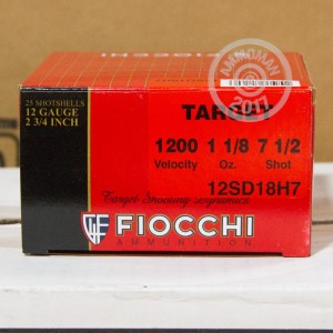 "Picture of 12 GAUGE FIOCCHI TARGET SHOOTING DYNAMICS 2-3/4"" 1-1/8 OZ. #7.5 SHOT (25 ROUNDS)"