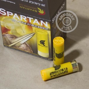 "Picture of 20 GAUGE SPARTAN 2-3/4"" #1 BUCK (250 ROUNDS)"