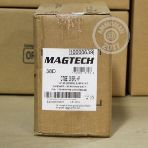 Picture of 38 SPECIAL MAGTECH +P 125 GRAIN SJSP (50 ROUNDS)