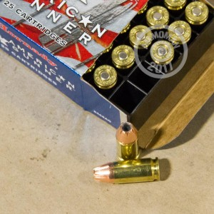 Picture of 9MM LUGER HORNADY AMERICAN GUNNER 115 GRAIN JHP (25 ROUNDS)